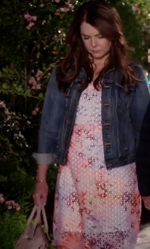Lauren Graham with Alexander Mcqueen Small Legend Bag in Gilmore Girls: A Year in the Life