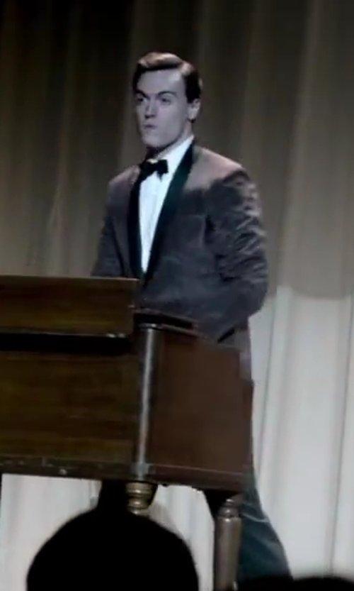 Erich Bergen with David Donahue Regular Fit Tuxedo Shirt in Jersey Boys
