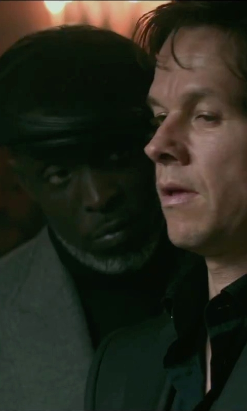 Michael Kenneth Williams with Gucci Stretch Cotton Dress Shirt in The Gambler