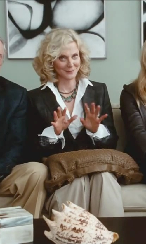 Blythe Danner with Band of Outsiders Plaid Two-Button Schoolboy Blazer in Little Fockers