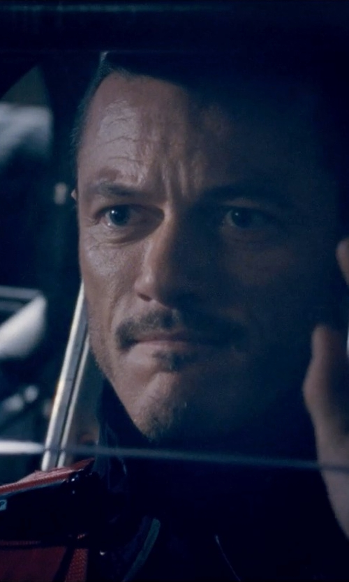 Luke Evans with Belstaff Ridgefield Jacket Waxed Cotton With Leather in Fast & Furious 6