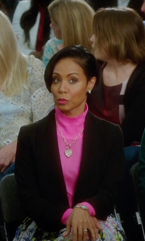 Jada Pinkett Smith with John & Jenn Funnel-Neck Cropped Sweater in Bad Moms