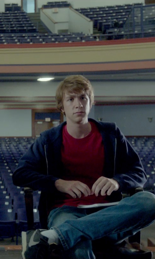 Thomas Mann with Vince Slub Cotton T-Shirt in Me and Earl and the Dying Girl