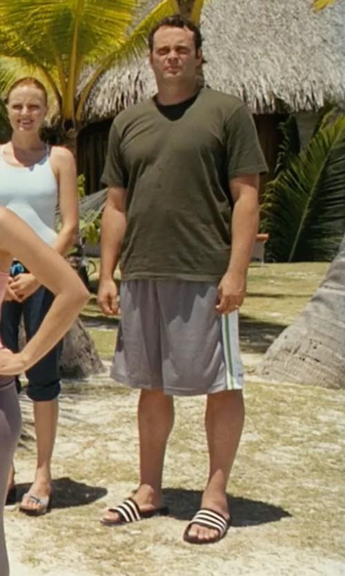 Vince Vaughn with Adidas Adilette Sandal in Couple's Retreat