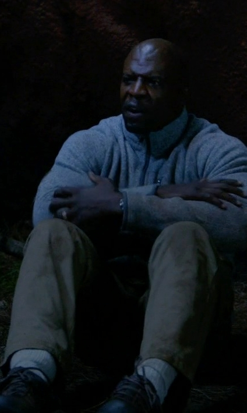 Terry Crews with Skechers Work Blais Shoes in Brooklyn Nine-Nine