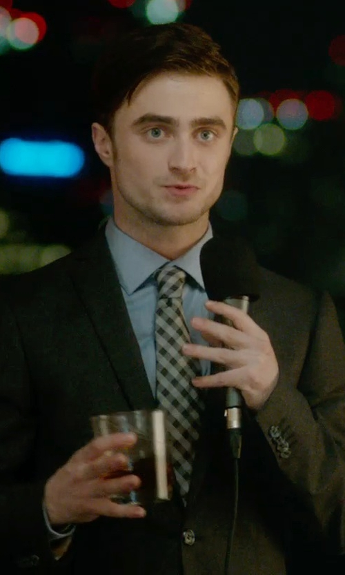 Daniel Radcliffe with Theory Weller Suit Jacket in What If