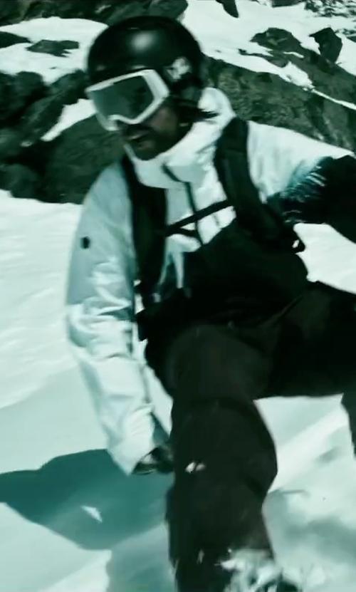 Clemens Schick with Poc Fornix Helmet in Point Break