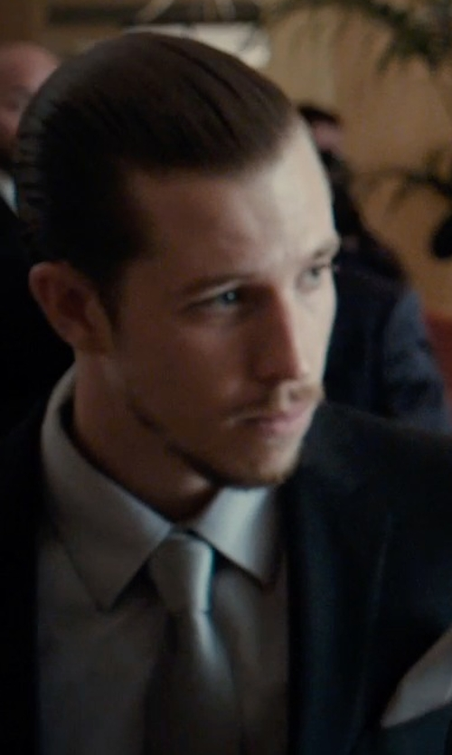 Beau Knapp with Armani Collezioni Textured Dress Shirt in Southpaw