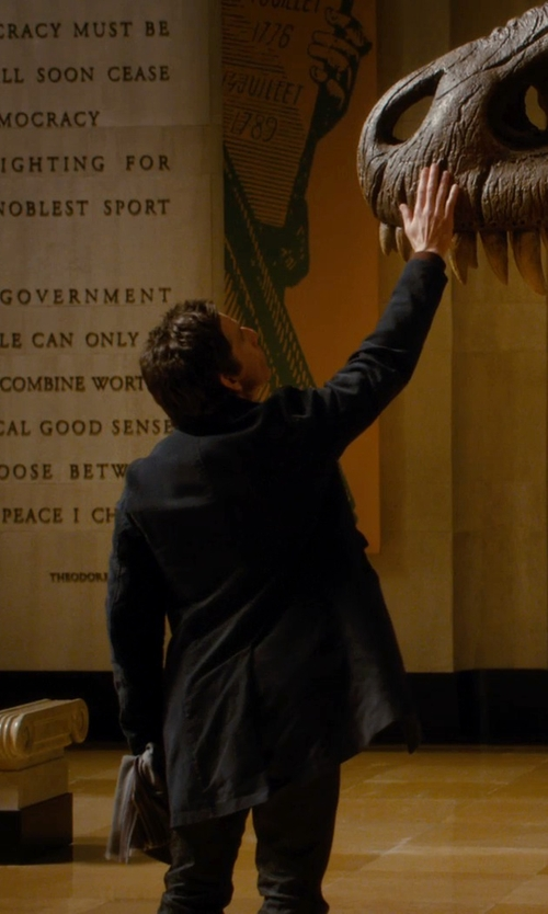 Ben Stiller with Henry Smith Trench Coat in Night at the Museum: Secret of the Tomb