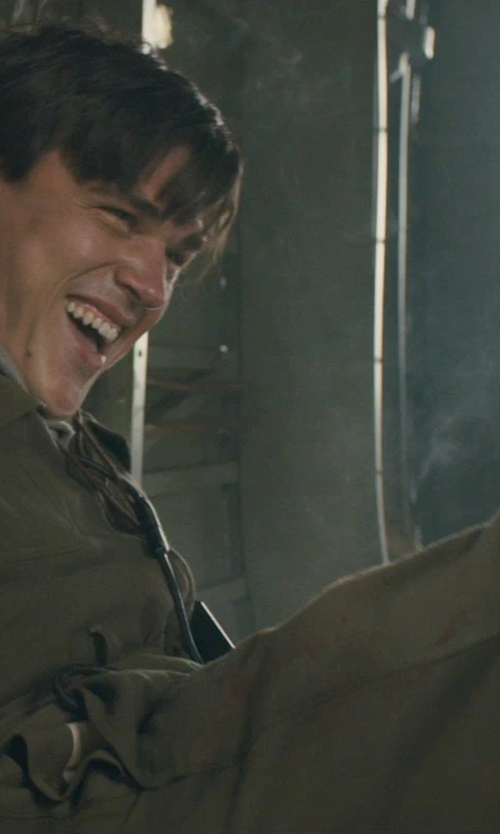 Finn Wittrock with Propper Nomex Flight Suit in Unbroken