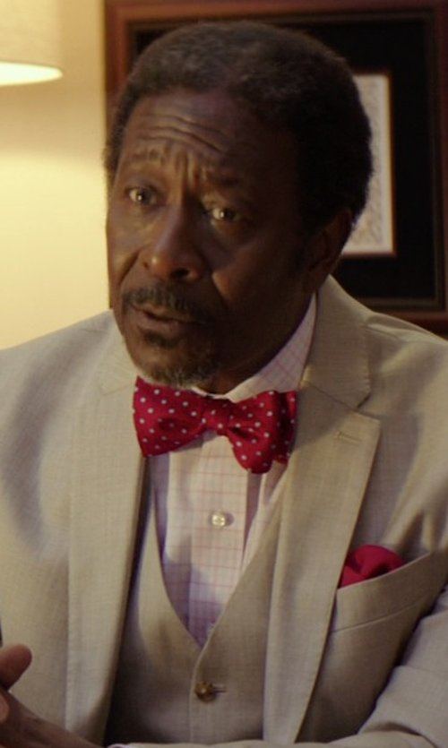 Clarke Peters with Fairfax Plaid Fitted Shirt in The Best of Me