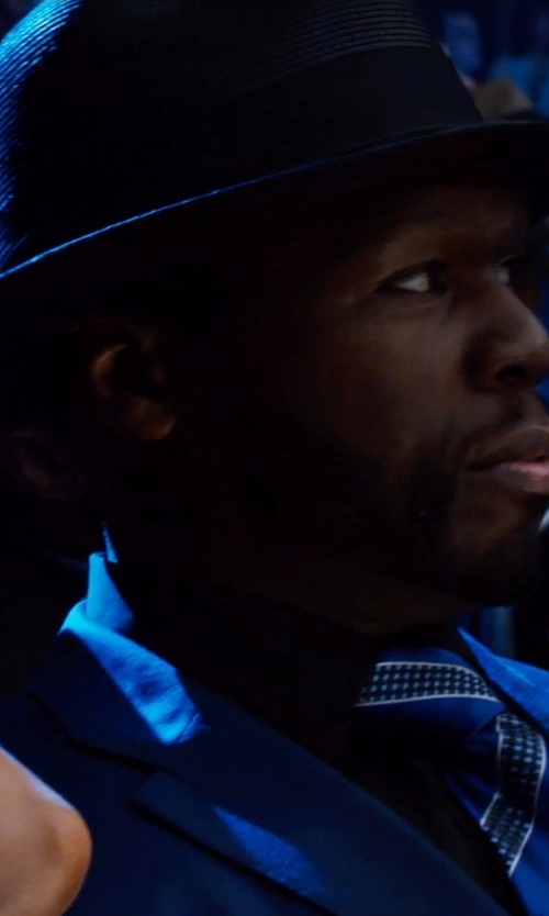 50 Cent with Scala Wool Felt Bowler w/ Grograin Band in Southpaw