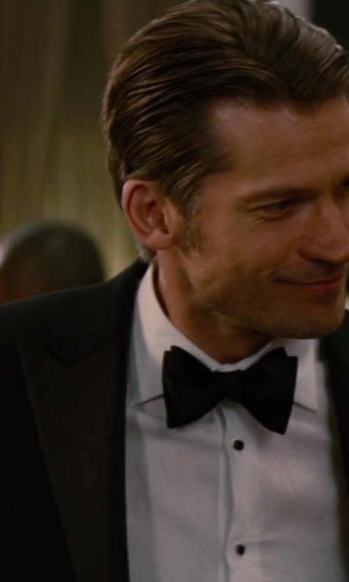 Nikolaj Coster-Waldau with Tom Ford Made to Measure Tuxedo in The Other Woman