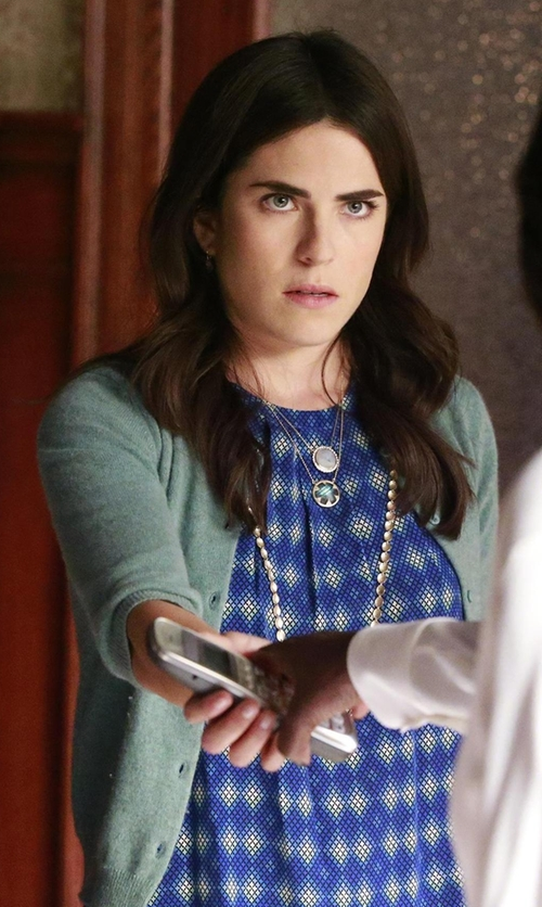 Karla Souza with Joie Aloysius Top in How To Get Away With Murder