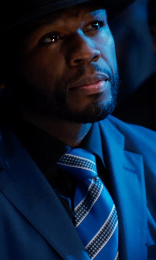 50 Cent with Dolce & Gabbana Two Piece Suit in Southpaw