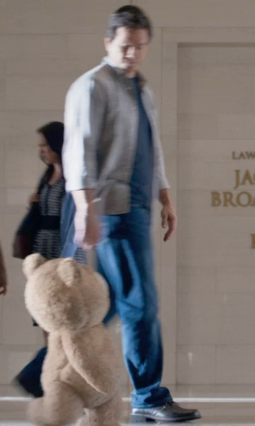 Mark Wahlberg with Frye Tyler Lace Up Boots in Ted 2