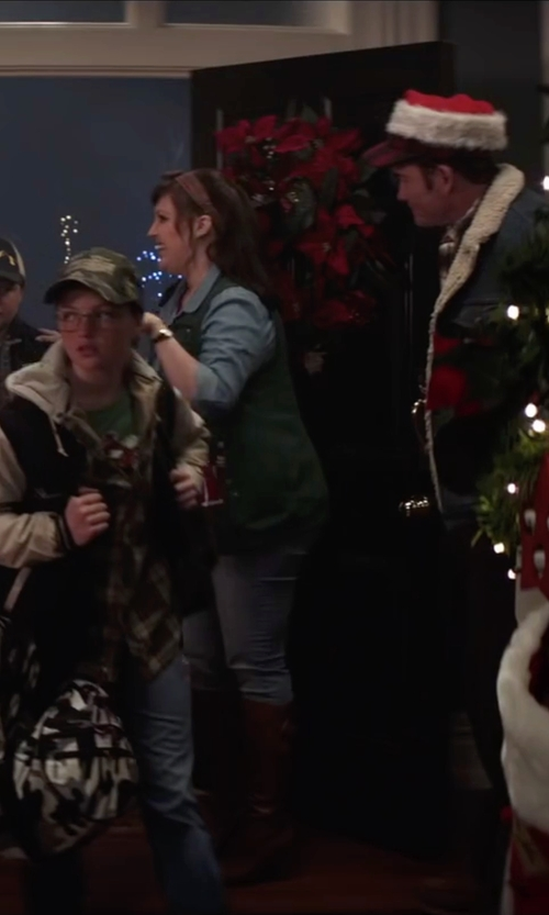 Allison Tolman with Nine West Navita Knee-High Boots in Krampus