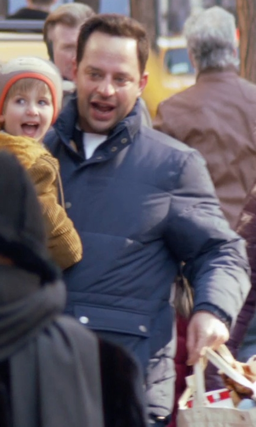 Nick Kroll with Kolor Padded Inner Jacket in Adult Beginners