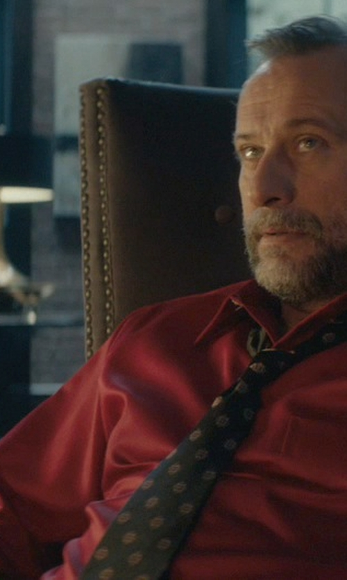 Michael Nyqvist with Williams-Sonoma Dorset Brandy Glass in John Wick