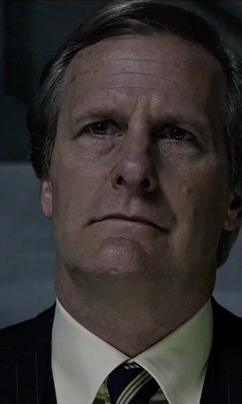 Jeff Daniels with Stefano Ricci Basic Solid Barrel-Cuff Dress Shirt in The Martian