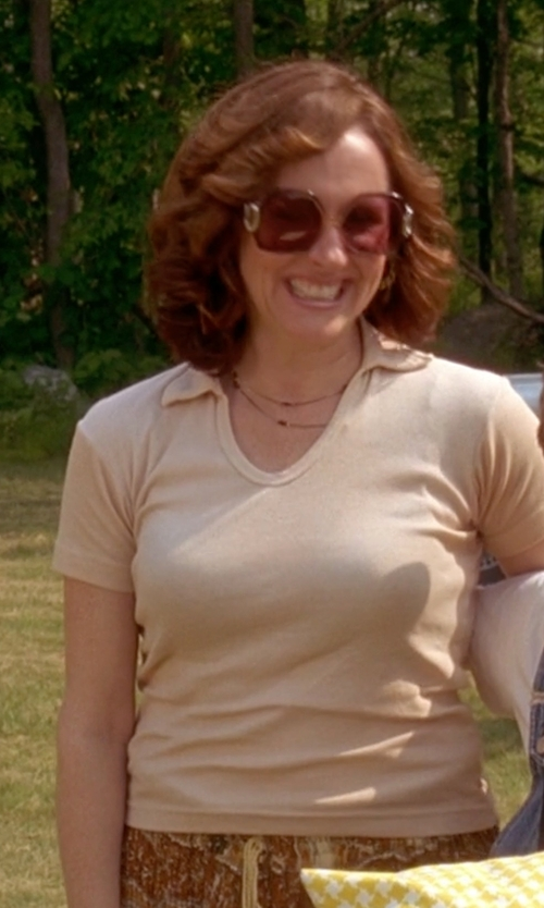 Molly Shannon with Kariban Proact Short Sleeve Performance Polo Shirt in Wet Hot American Summer