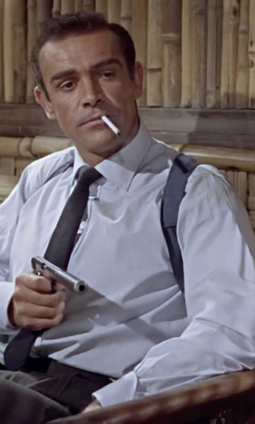 Sean Connery with Nordstrom Classic Fit Dress Shirt in Dr. No