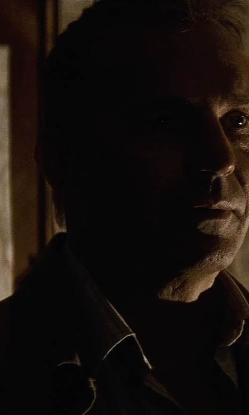 Kevin Costner with Mountain Khakis Men's Stagecoach Jacket in Man of Steel