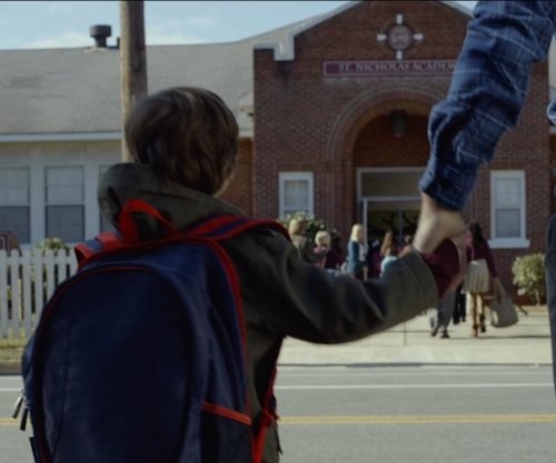 Jacob Tremblay with Fairhope Kindergarten Center (Depicted as Saint Nicholas Academy) Fairhope, Alabama in Before I Wake