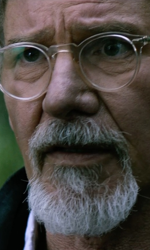 Harrison Ford with Oliver Peoples Gregory Peck Glasses in The Age of Adaline