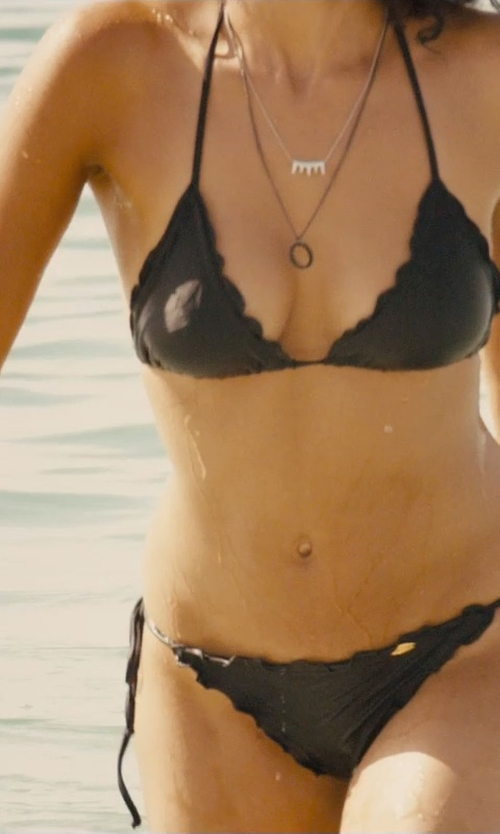 Nathalie Emmanuel with Alexander Mcqueen Skull Bead Bracelet in Furious 7