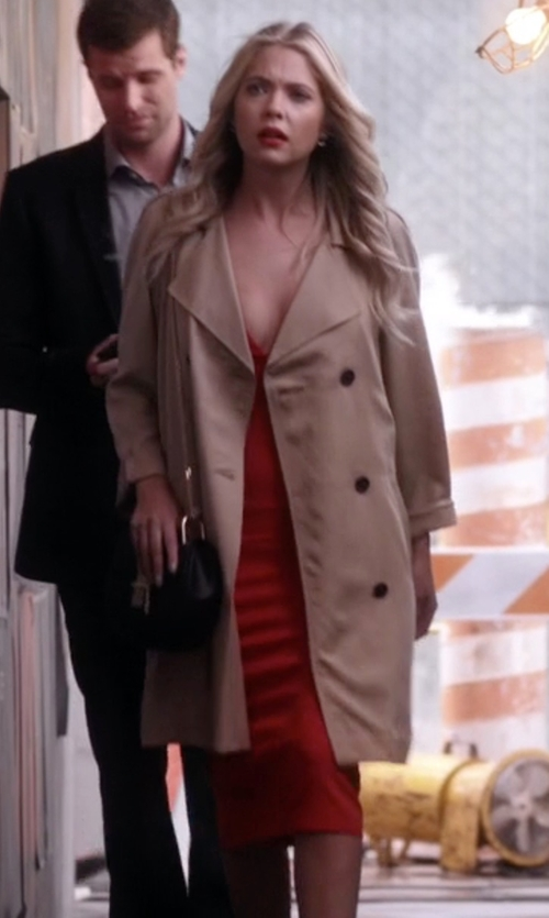 Ashley Benson with Chloé Drew Mini-Crossbody Bag in Pretty Little Liars