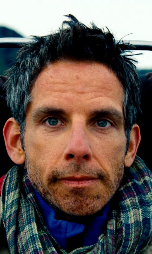 Ben Stiller with The North Face Resolve Jacket in The Secret Life of Walter Mitty