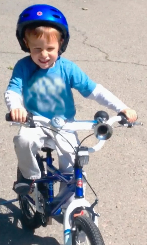 Unknown Actor with Vilano Boy's BMX Style Bike in Unfriended