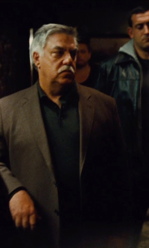 Bruce McGill with Tommy Hilfiger Solid Trim-Fit Corduroy Sport Coat in Run All Night