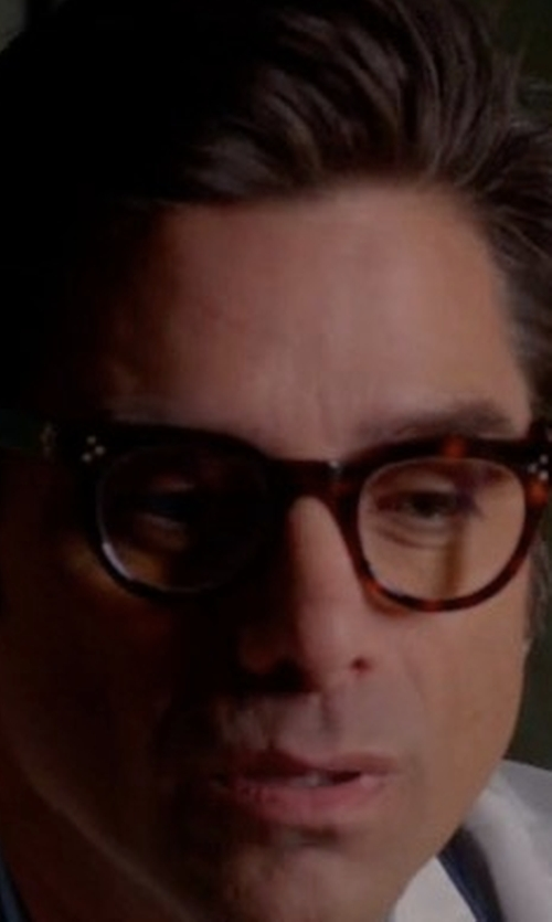 John Stamos with See Concept Shape B Square Eyeglasses in Scream Queens