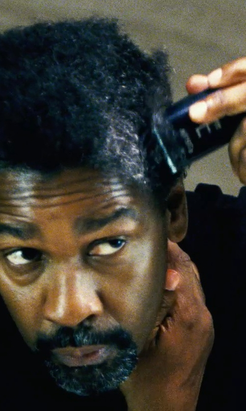 Denzel Washington with Wahl Lithium Ion Cordless Clipper in Safe House