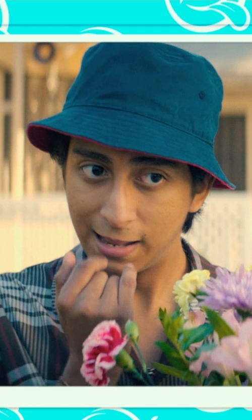 Tony Revolori with Wolverine Flame Resistant Plaid Twill Shirt in Dope