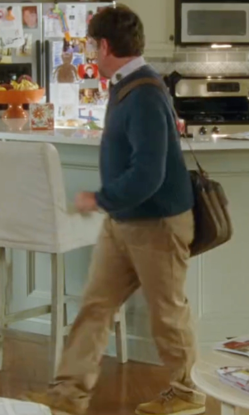 Zach Galifianakis with Frye Men's Norfolk Chukka Boots in Keeping Up with the Joneses