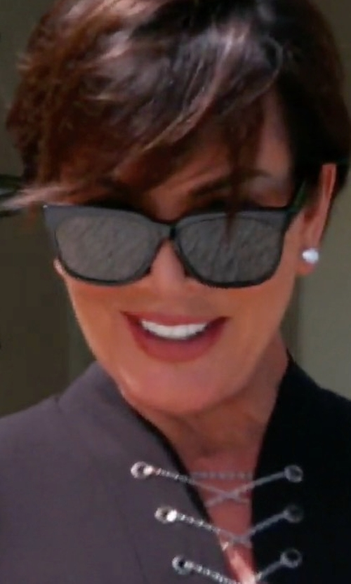 Kris Jenner with Oliver Peoples Abrie Upswept Sunglasses in Keeping Up With The Kardashians