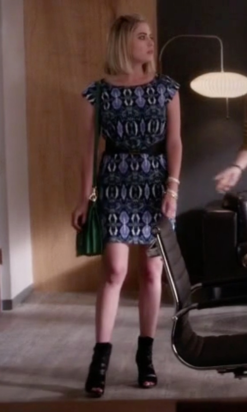 Ashley Benson with Guess Candie Ankle Boots in Pretty Little Liars