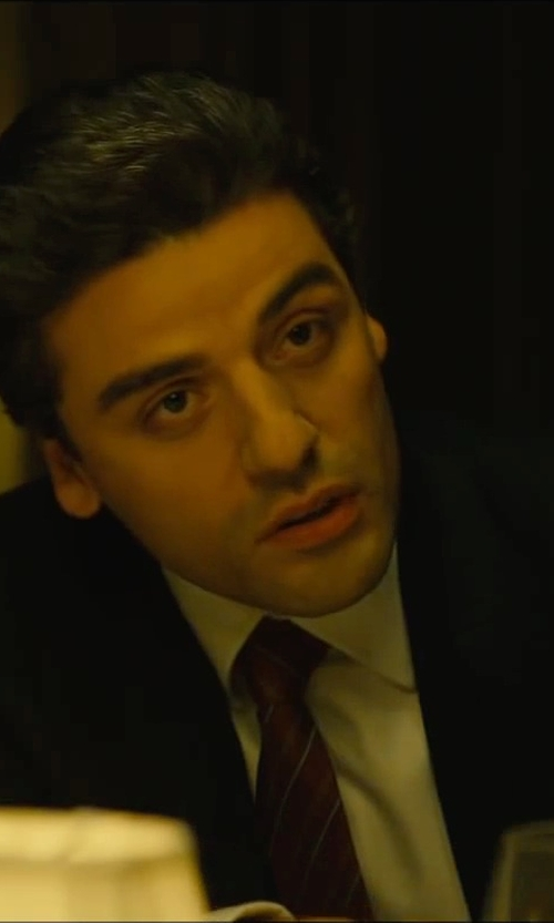 Oscar Isaac with Kenzo Formal Two Piece Suit in A Most Violent Year