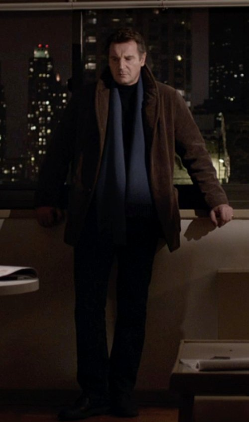 Liam Neeson with John Varvatos Dress Oxford in A Walk Among The Tombstones