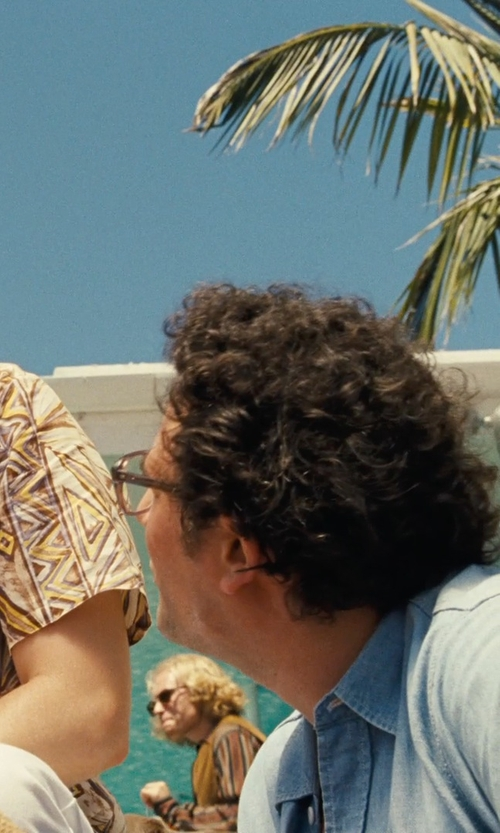 Unknown Actor with Saturdays Surf NYC Classic Button Down Shirt in Love & Mercy