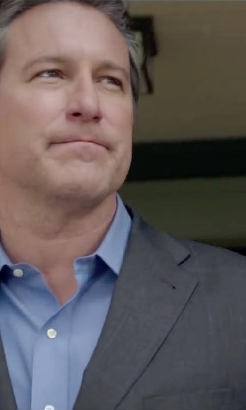 John Corbett with Hugo Boss Sharp Fit Dress Shirt in The Boy Next Door