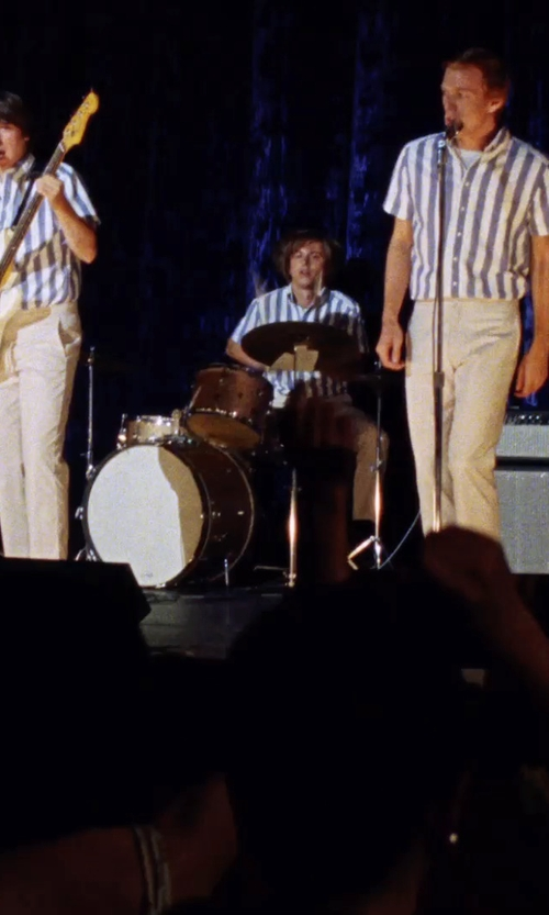 Kenny Wormald with Gammon Percussion Drum Set with Cymbals Stands Stool Sticks in Love & Mercy
