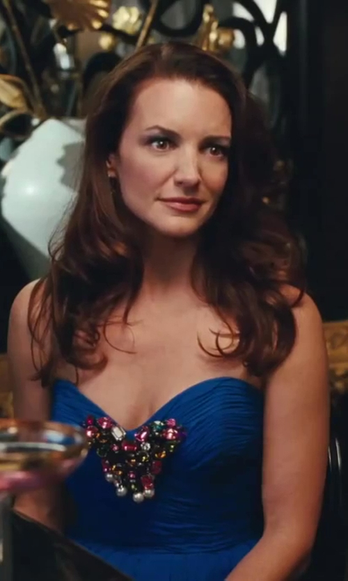 Kristin Davis with Vintage Strapless Evening Dress Selected by Patricia Field (Costume Designer) in Sex and the City 2