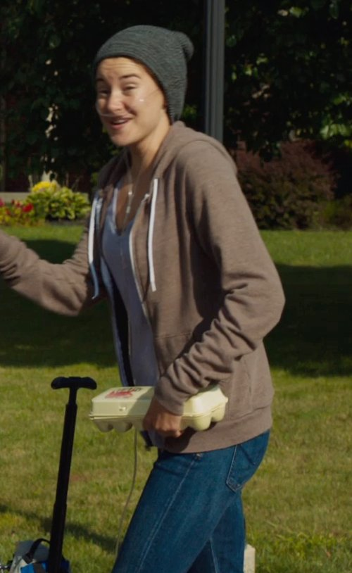 Shailene Woodley with ADRIANO GOLDSCHMIED THE LEGGING ANKLE in The Fault In Our Stars