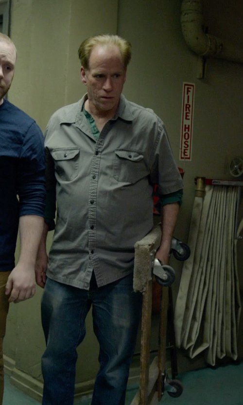 Chuck McMahon with Diesel Safado Straight Jeans in Birdman