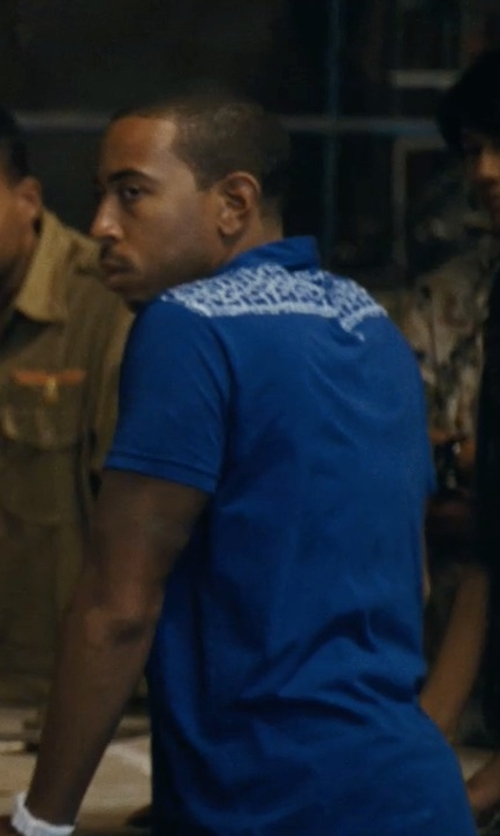 Ludacris with Gant by Michael Bastian 5 Rope Rugger Polo Shirt in Fast Five