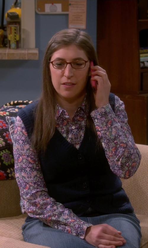Mayim Bialik with Ralph Lauren RL 6036 Eyeglasses in The Big Bang Theory
